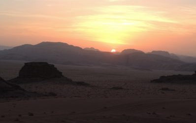 Adventuring in Wadi Rum